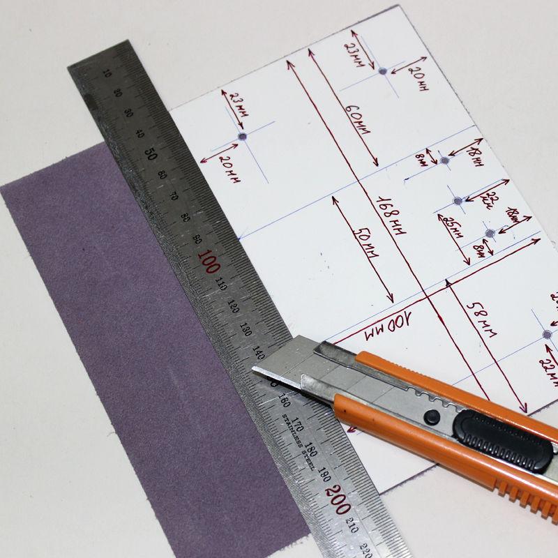 Tutorial on Making a Leather Key Bag, фото № 3