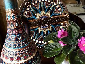 Онлайн обучение точечной росписи и росписи лаковыми красками. | Ярмарка Мастеров - ручная работа, handmade