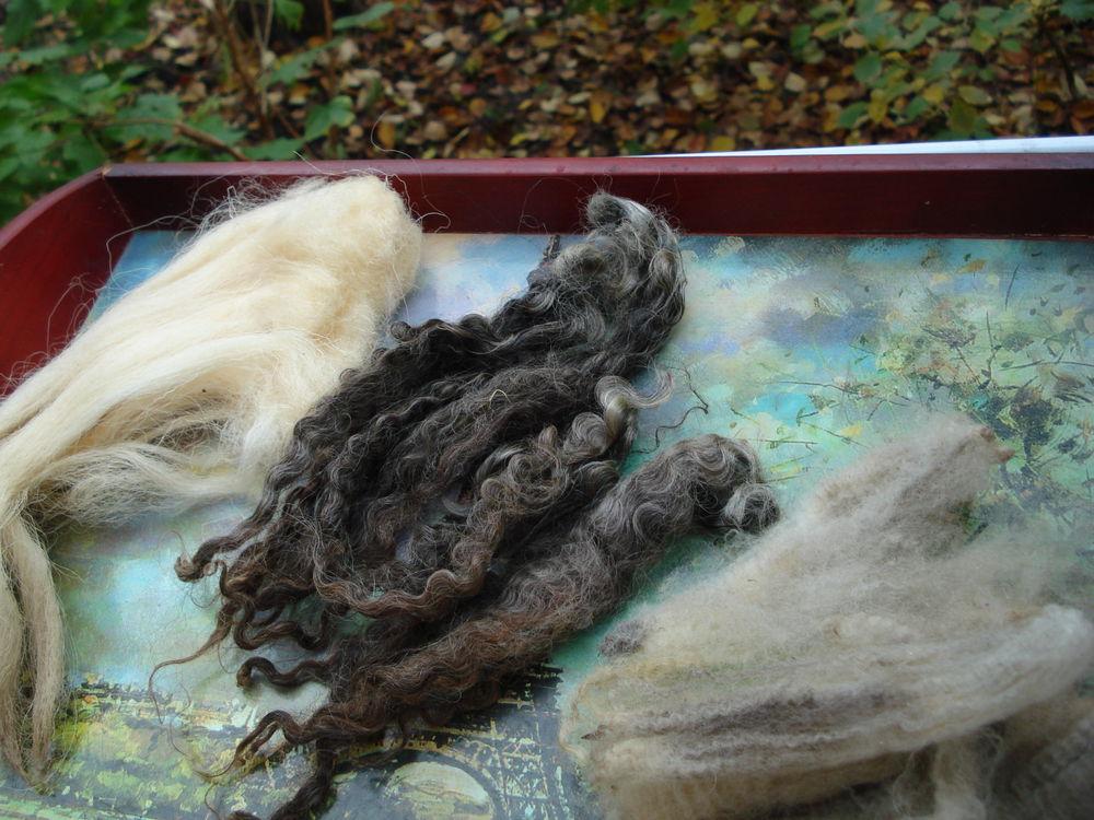 мои эксперименты с новозеландской шерстью, фото № 4