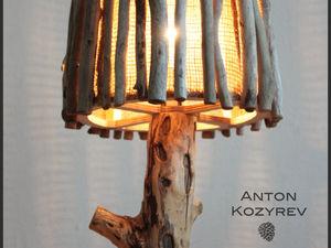Распродажа ламп из дерева! Успей купить уютный эксклюзив до 15 октября!. Ярмарка Мастеров - ручная работа, handmade.