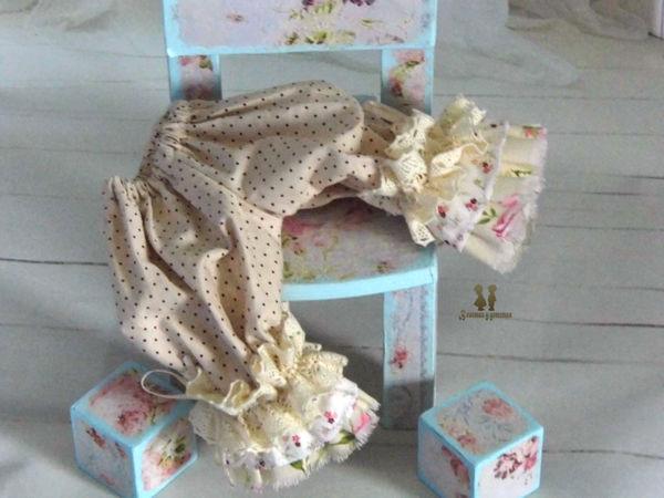 Пышные съемные штанишки для куклы в стиле БОХО | Ярмарка Мастеров - ручная работа, handmade