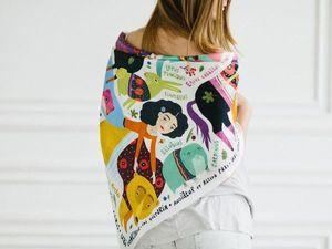 My Silk Story: The Great Road of Ekaterina Stepanisheva. Livemaster - handmade