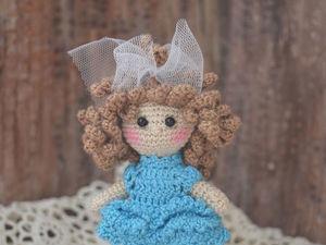 Мини куколка.. Ярмарка Мастеров - ручная работа, handmade.