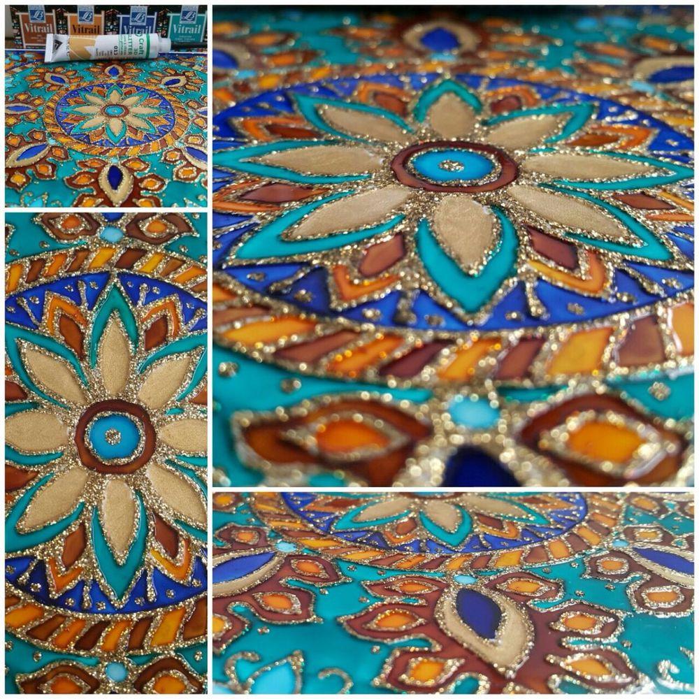 Роспись по керамической плитке своими руками мастер класс 33