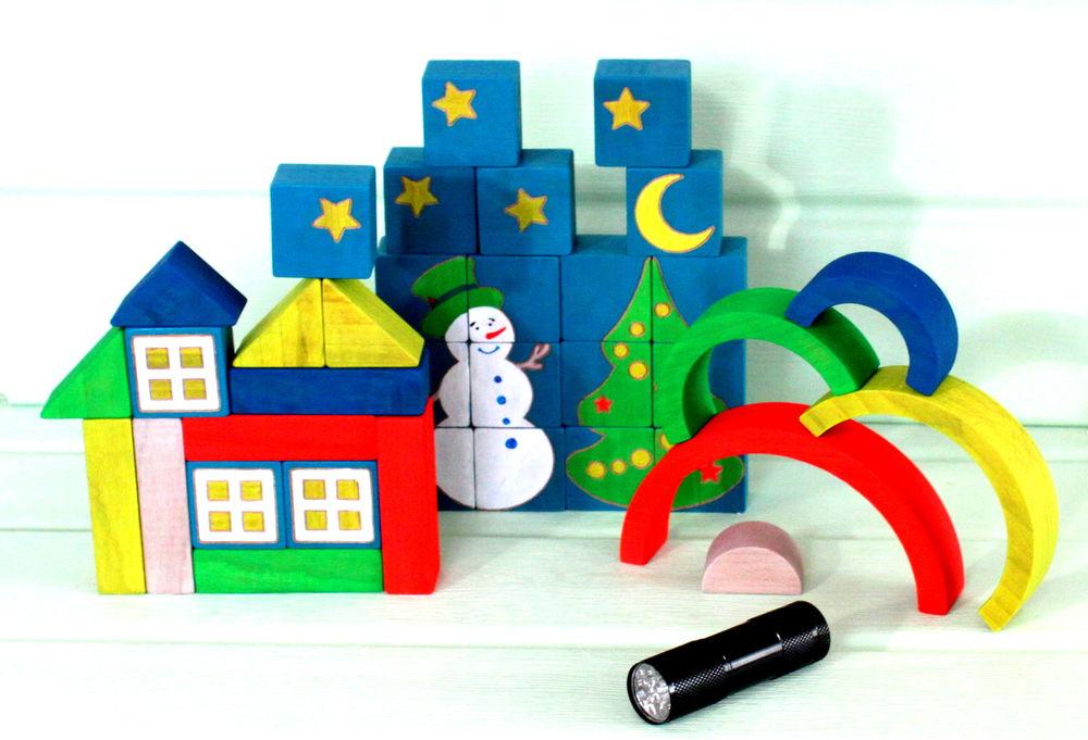 новогодние подарки, игрушки из дерева