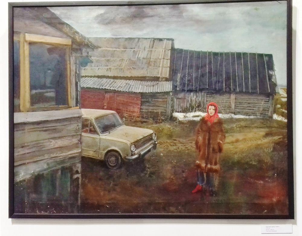 Выставка: Левенталь. Сцена и живопись. Краткий фоторепортаж от благодарной зрительницы