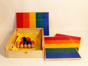«Шагоцвет»: новая настольная игра для малышей от 2 лет. | Ярмарка Мастеров - ручная работа, handmade