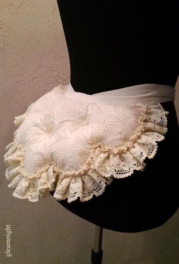 нижняя юбка, шитье