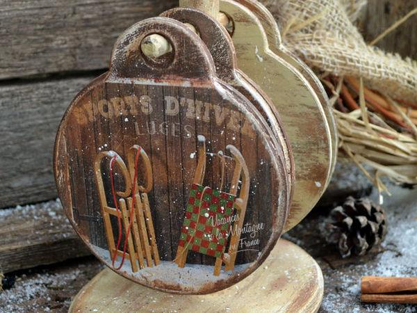 Зимние подставки под чашку- чтобы зима была ещё уютней) | Ярмарка Мастеров - ручная работа, handmade