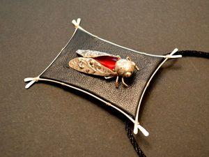 """Новый кулон """"Серебряный звон цикады"""". Ярмарка Мастеров - ручная работа, handmade."""