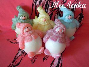 Новогоднее сувенирное мыло. Ярмарка Мастеров - ручная работа, handmade.