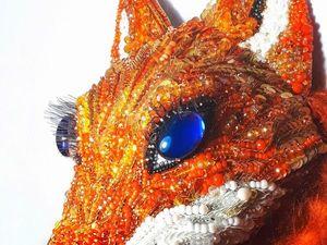 Новый проект - Рыжая лисичка. Ярмарка Мастеров - ручная работа, handmade.