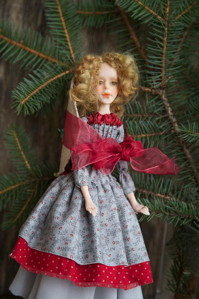 Дополнительные фотографии куклы ручной работы Софии., фото № 9