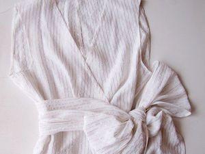 Шьем очаровательную блузку с бантом. Ярмарка Мастеров - ручная работа, handmade.