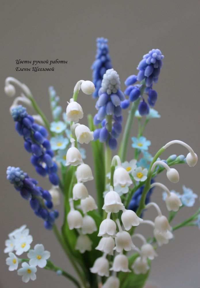 полимерная флористика, лепка цветов, флористика