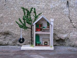 Делаем мебель для микро-домика. Ярмарка Мастеров - ручная работа, handmade.