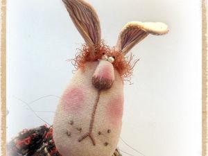У зайца Митьки появился паспорт !. Ярмарка Мастеров - ручная работа, handmade.