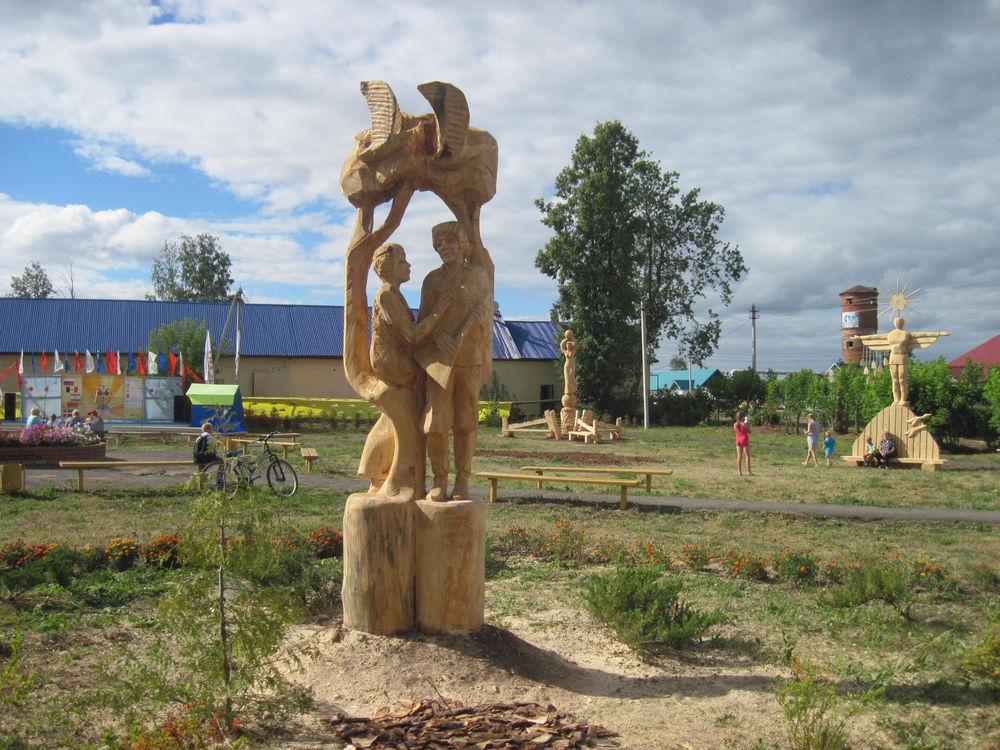 Об участии в международном фестивале деревянной скульптуры., фото № 31