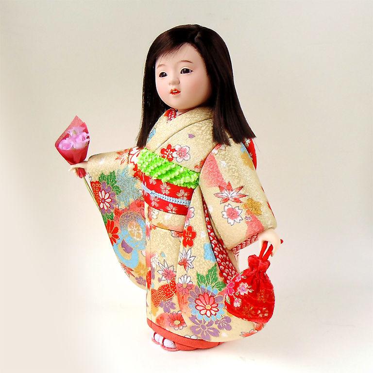 интерьерная кукла японка
