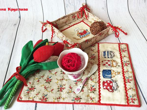 Аукцион с НУЛЯ на Комплект для кухни!   Ярмарка Мастеров - ручная работа, handmade