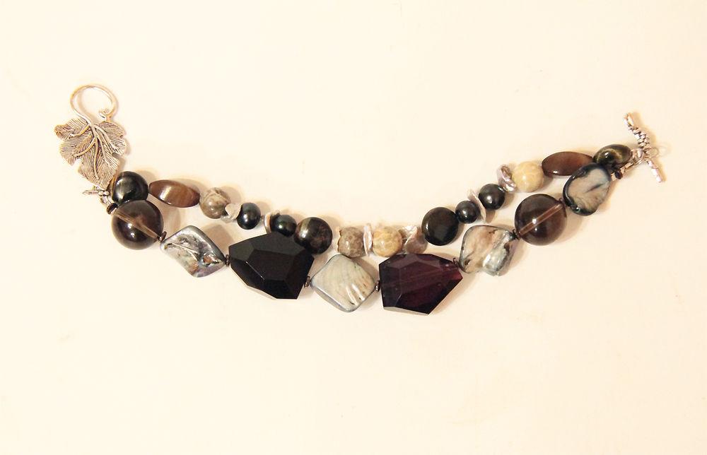 Авторские украшения из жемчуга и натуральных камней своими руками, фото № 16