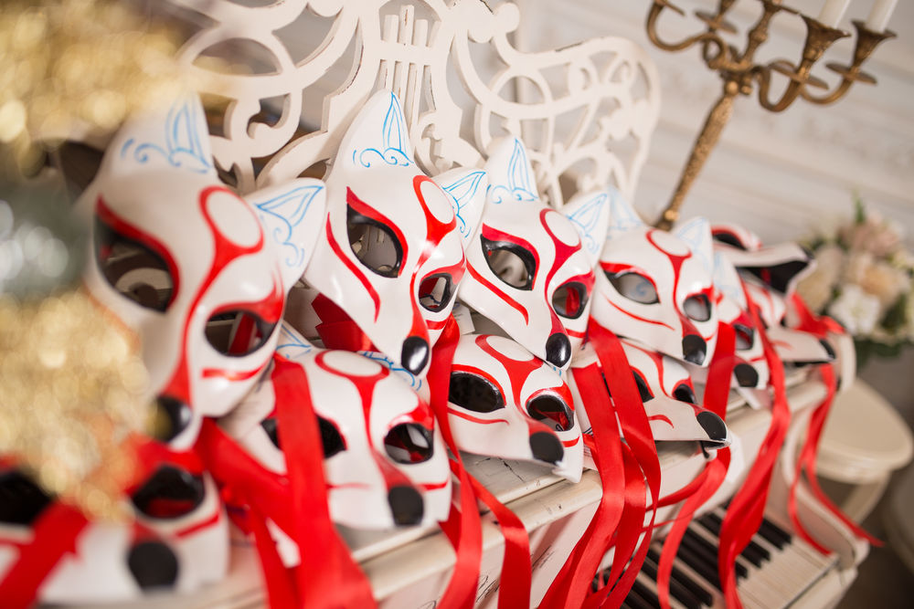 венецианская маска, папье-маше