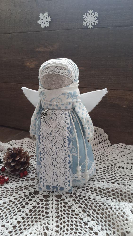 рождественский подарок, рождественский ангел, ангел, кукла-оберег, народная традиция, народная кукла, новогодний подарок, обережная кукла