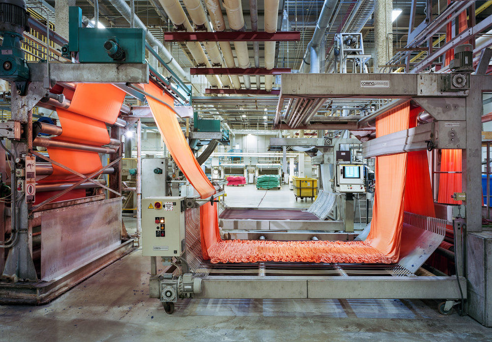 Текстильная промышленность глазами фотографа: 35 завораживающих кадров