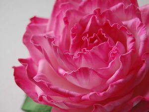 Новинка нашей студии! Цветы из фоамирана: Роскошная роза!   Ярмарка Мастеров - ручная работа, handmade