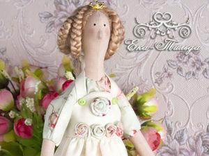 Кукла Тильда Королева Цветов. Ярмарка Мастеров - ручная работа, handmade.