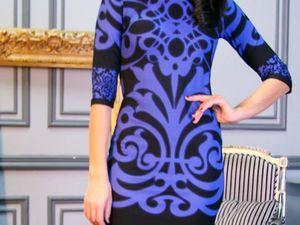 Аукцион платье размер 52, старт 1000 руб.. Ярмарка Мастеров - ручная работа, handmade.