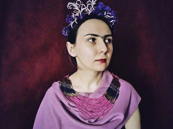 Новый год! Фрида Кало. | Ярмарка Мастеров - ручная работа, handmade