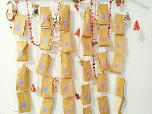 Адвент - календарь. Ярмарка Мастеров - ручная работа, handmade.
