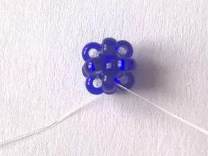Осваиваем «Монастырское плетение» с нуля. Элемент «крестик». Ярмарка Мастеров - ручная работа, handmade.