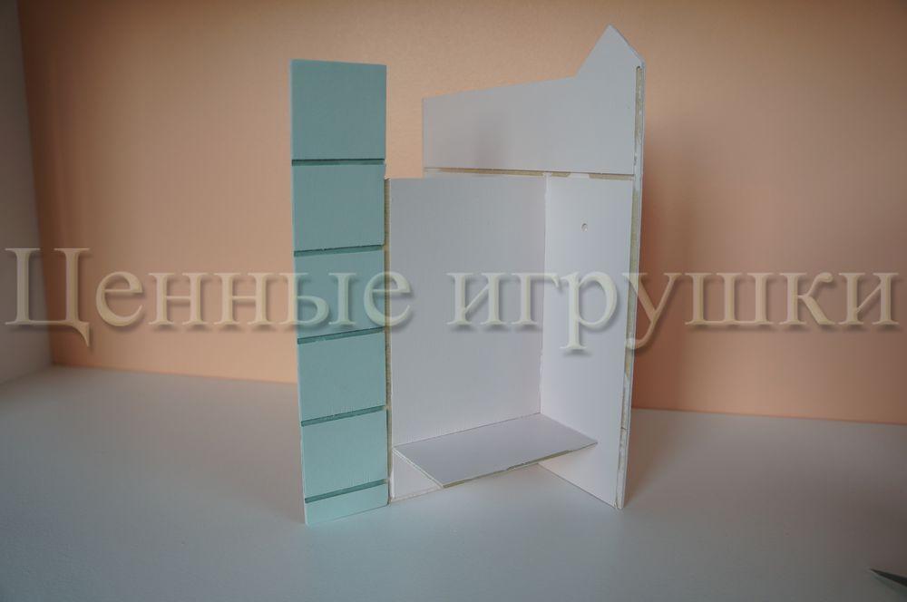 Мастер класс по сборке и оформлению кроватки домика., фото № 7