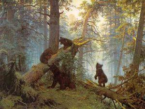 Медведи на полотнах русских художников. Ярмарка Мастеров - ручная работа, handmade.