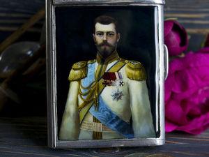 Видеоурок: рисуем портрет императора!. Ярмарка Мастеров - ручная работа, handmade.