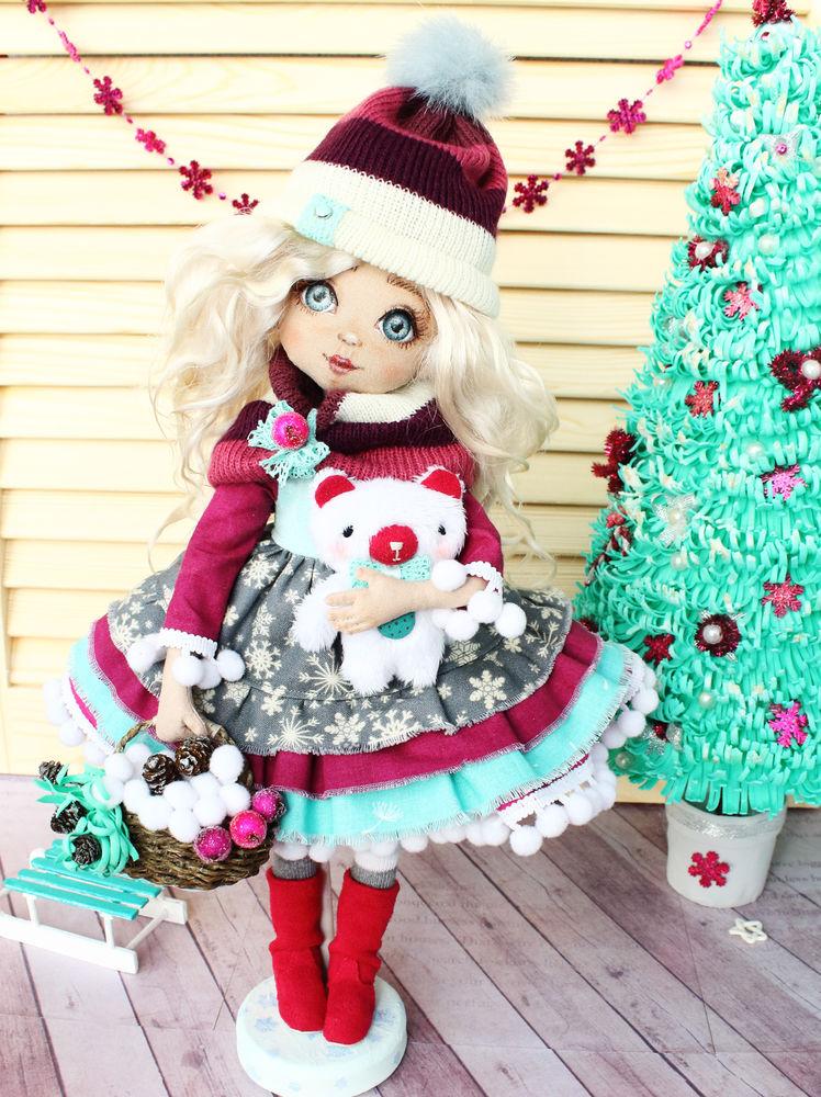 конкурс мастер-классов, новый год, авторская кукла, зима