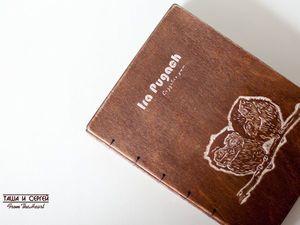 Блокнот с Лого для Ирины :). Ярмарка Мастеров - ручная работа, handmade.