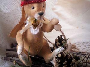 Рождение елочного зайца). Ярмарка Мастеров - ручная работа, handmade.