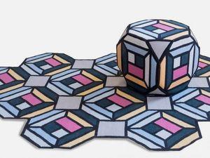 Шведская студия дизайна складывает из ковров мебель. Ярмарка Мастеров - ручная работа, handmade.