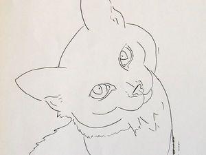5 способов переноса рисунка на холст. Ярмарка Мастеров - ручная работа, handmade.