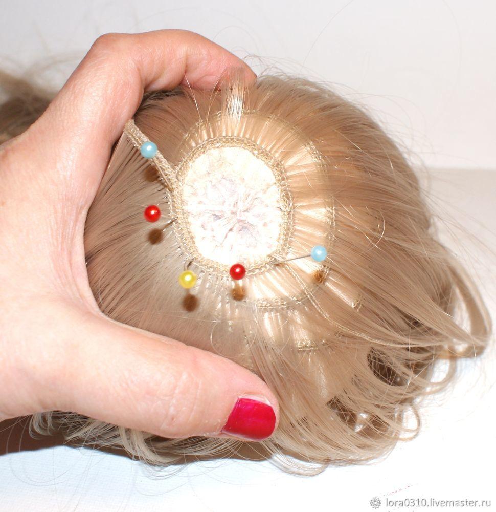 мк по волосам для кукол