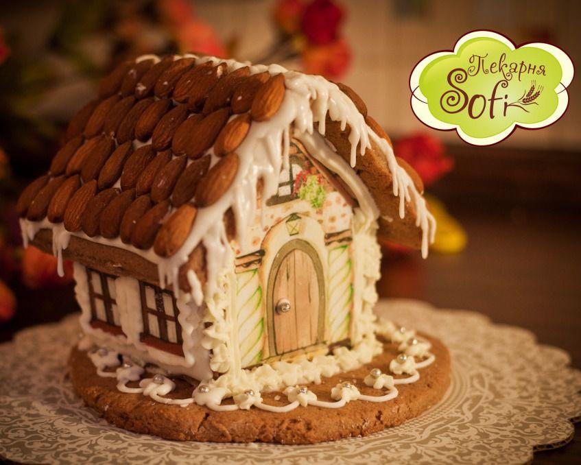 пряничный домик, дети, подарок своими руками