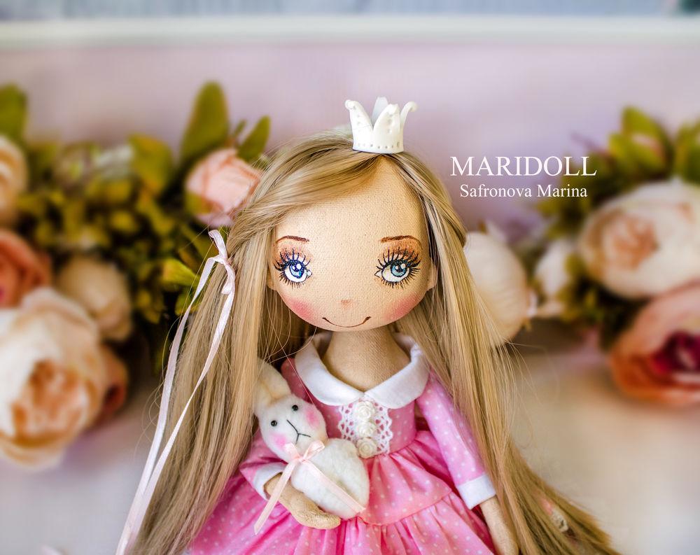 купить текстильная кукла, принцессы для девочки, купить подарок девушке