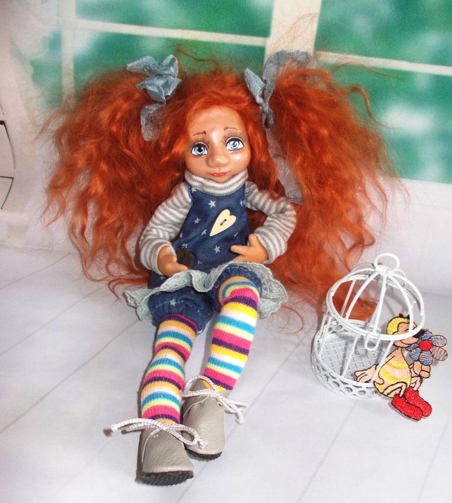 кукла коллекционная, авторская кукла