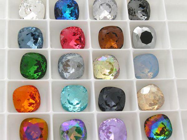 Палитра цветов кристаллов  кушон 10 мм ! | Ярмарка Мастеров - ручная работа, handmade