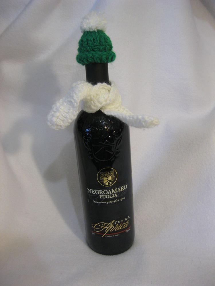 декорирование бутылок, новый год