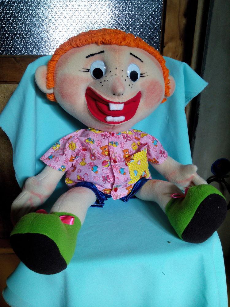 Кукла логопедическая своими руками 7