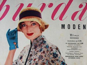 Burda moden 11/1957 Бурда Моден. Ярмарка Мастеров - ручная работа, handmade.